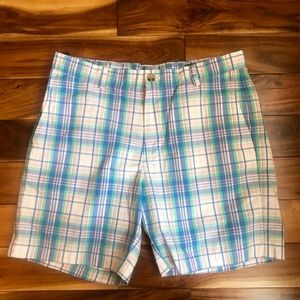 Vineyard Vines Mens 7 inch Plaid Breaker SHORTS 33